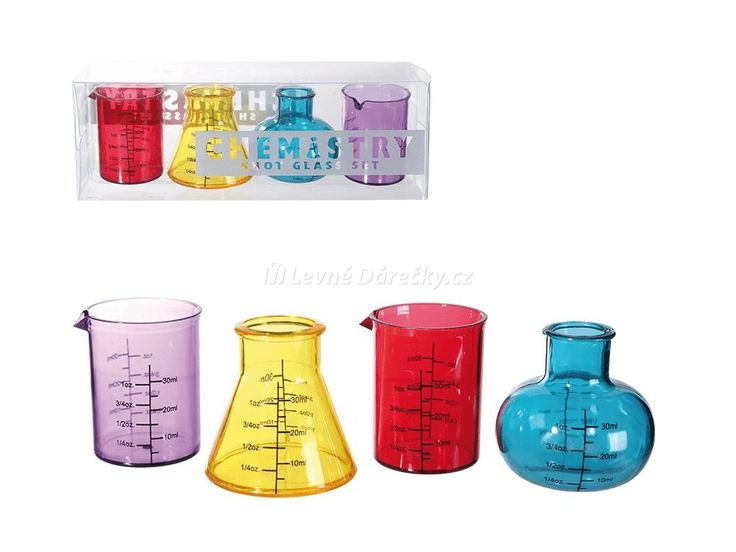 Udělejte párty netradiční s laboratorními panáky. Vychutnejte si alkohol z chemických lahviček. Panáky ve tvaru chemických lahviček jsou ideálním dárkem na párty. Překvapte své přátele bombovými panáky a užijte si spoustu legrace.