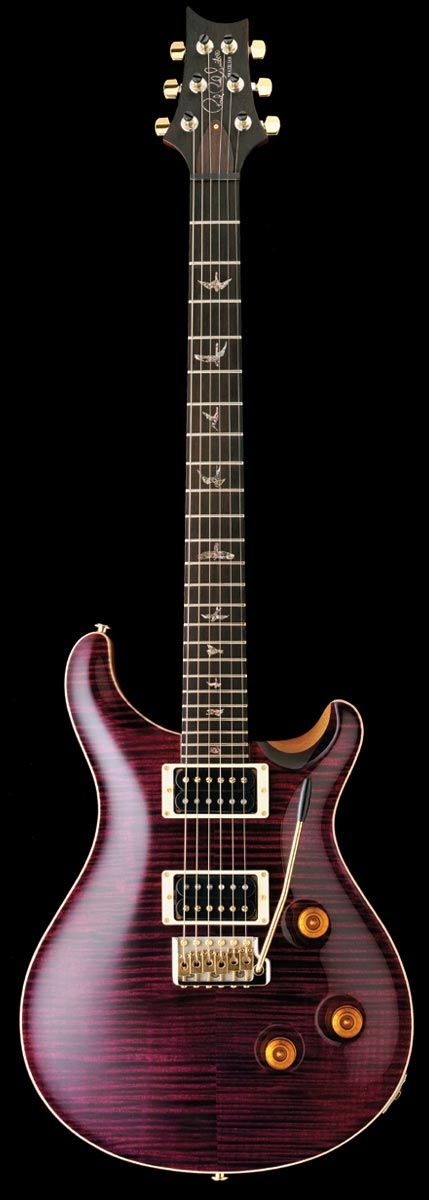 PRS Custom 24 I had one like this but with black knobs. I miss that guitar!