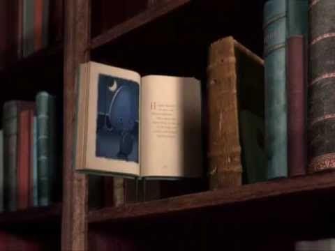 Los libros toman vida y se convierten en guías de los seres humanos. Precioso corto de exquisita sensibilidad para transmitir la importancia de y el amor a los libros. Es un poco largo pero merece la pena.