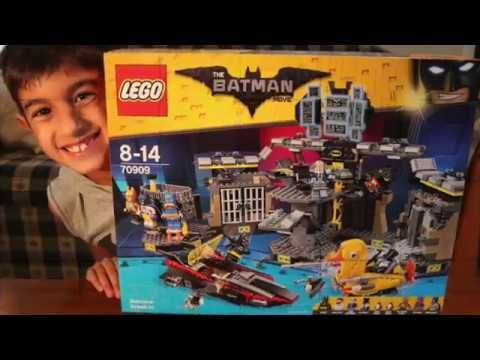 LEGO Batcave Break-in The LEGO Batman Movie - The Garage TV - YouTube https://youtu.be/gMq8gXj9aAc