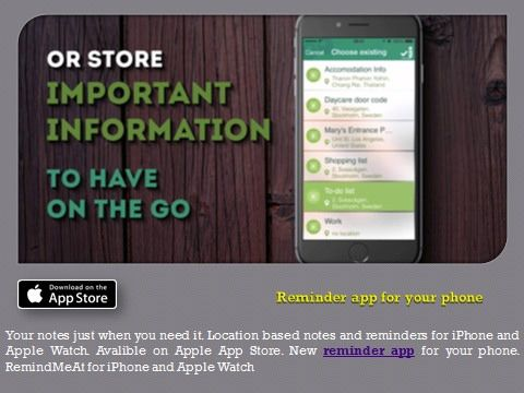 https://flic.kr/p/J66AQm | Todo List App - To-Do & Task List | Supercharge the way you set reminders on your iOS devices. Open iTunes to buy and download apps.   Follow Us On : www.facebook.com/RemindMeAt   Follow Us On : twitter.com/RemindMeAtApp   Follow Us On : www.instagram.com/remindmeat/   Follow Us On : www.youtube.com/watch?v=ShZ3lSsd7RM   Apps Link :- itunes.apple.com/us/app/apple-store/id948654827?pt=117130...