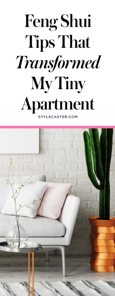 These genius Feng Shui tips transformed my tiny apartment | Small space decorating ideas | Art on the walls | @stylecaster