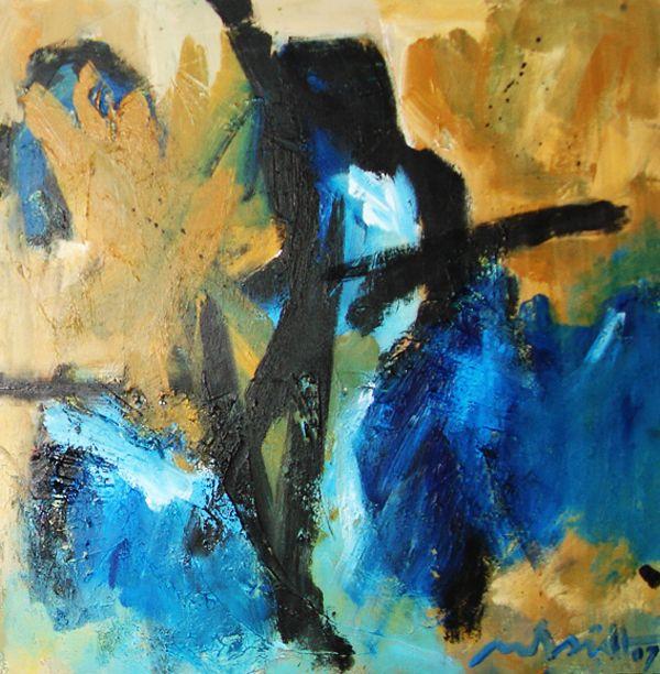 80 x 80 cm Abstract Art by Paul Smidt  www.paulsmidt.nl www.facebook.com/paulsmidtschilderkunst