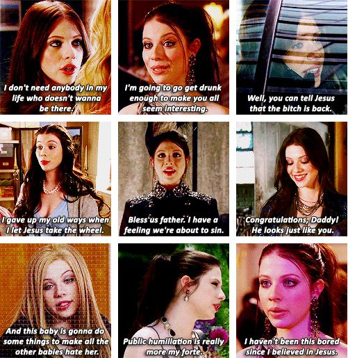 Hahaha. Gossip Girl wouldn't be the same without Georgina Sparks in it