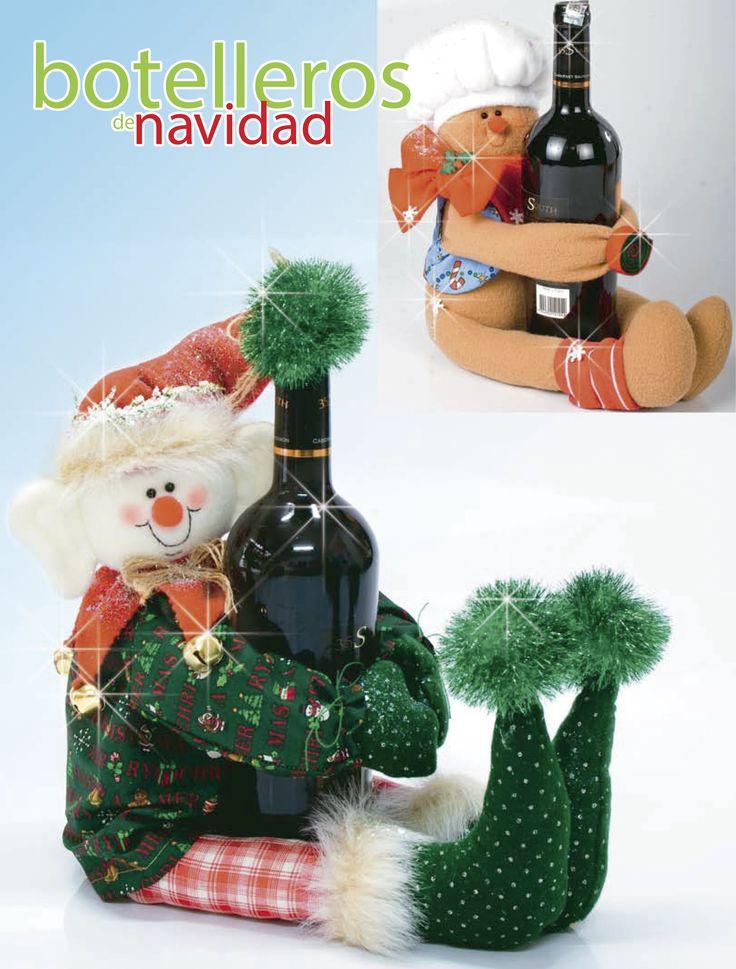 Moldes o patrones para elaborar hermosos muñecos navideños ALBUM 33 WhatSap +57 323 4670780