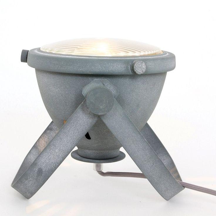 Steinhauer Auto Table Lamp - Grey - Lighting Direct