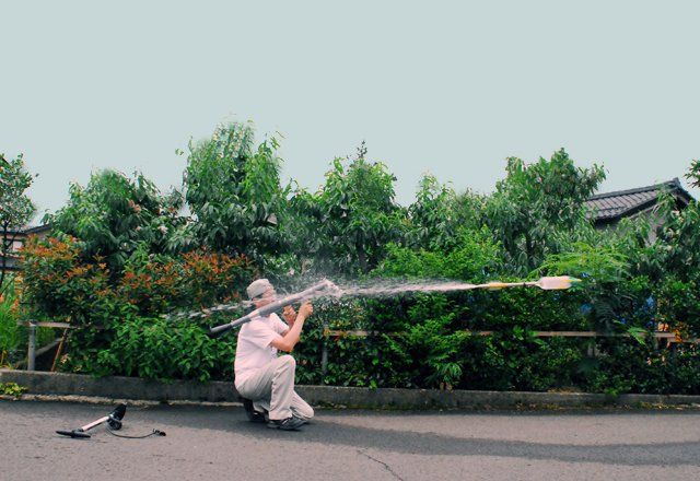 RPG-7 Water Rocket. Japanese company Marudai has developed the ultimate weapon in the water-gun universe. It's a water rocket-propelled grenade launcher, and it fires water bottle rockets.  $550