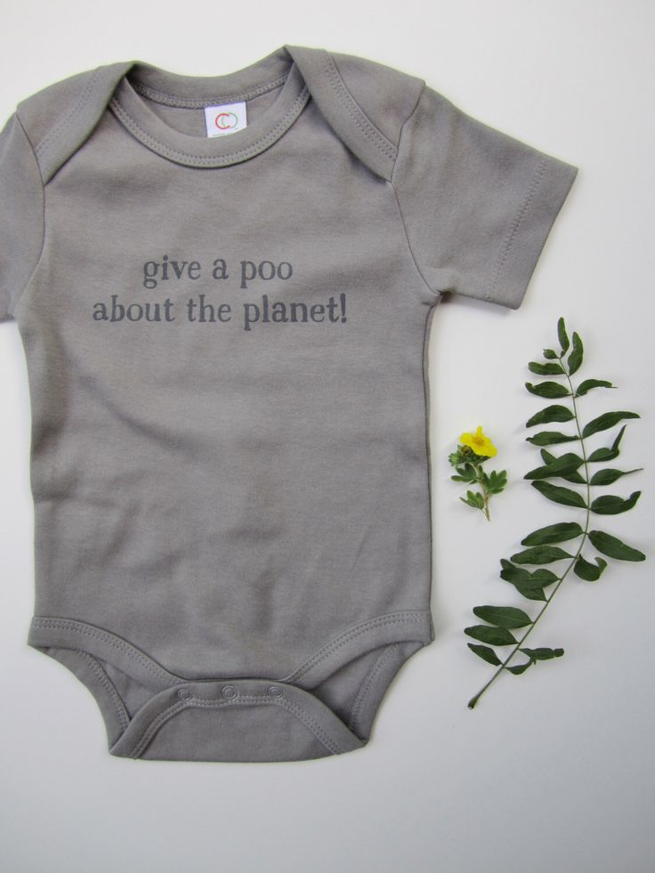 Organic cotton baby bodysuit - unisex baby clothes - eco-friendly - environmental - gray - baby clothing - baby shower gift - baby birthday by smallbutmightytees on Etsy https://www.etsy.com/listing/240247870/organic-cotton-baby-bodysuit-unisex-baby