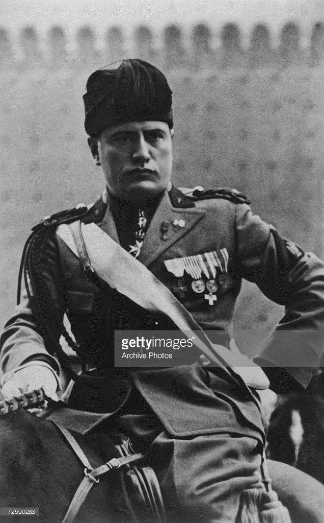 Benito Mussolini | Getty Images