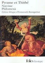 Couverture Pyrame et Thisbé - Narcisse - Philomena