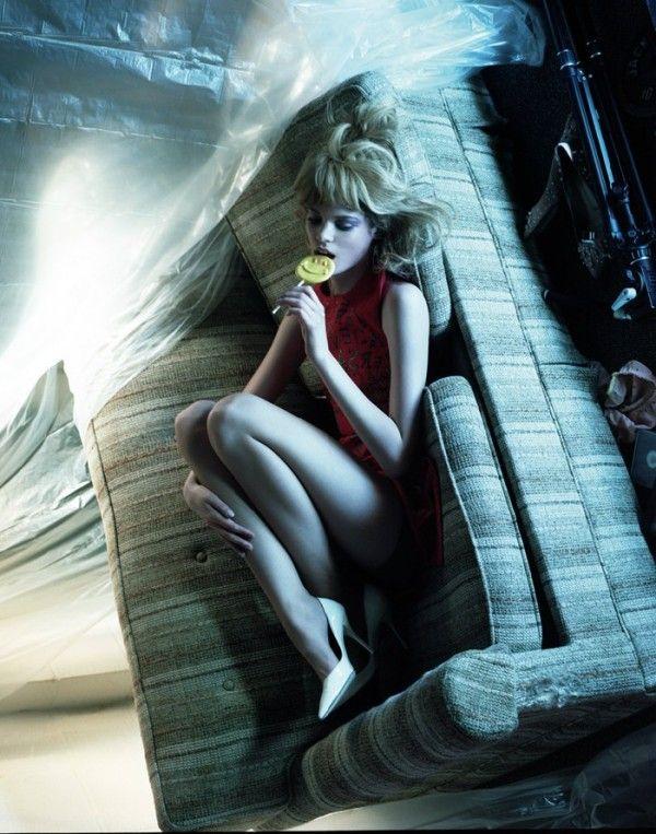 Jeff Bark's Camera Club Film/Stills for Dazed Digital | Trendland: Fashion Blog & Trend Magazine