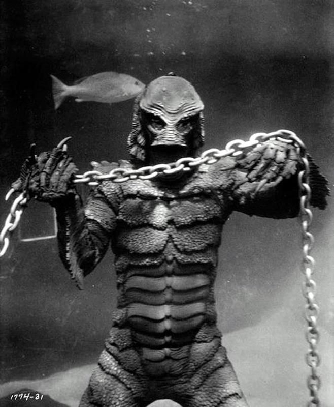 """""""Revenge of the Creature"""" - Classic Movie Monsters"""