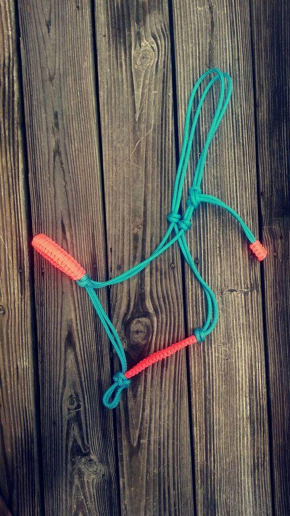 Rope Horse Halter by KnotsByK on Etsy