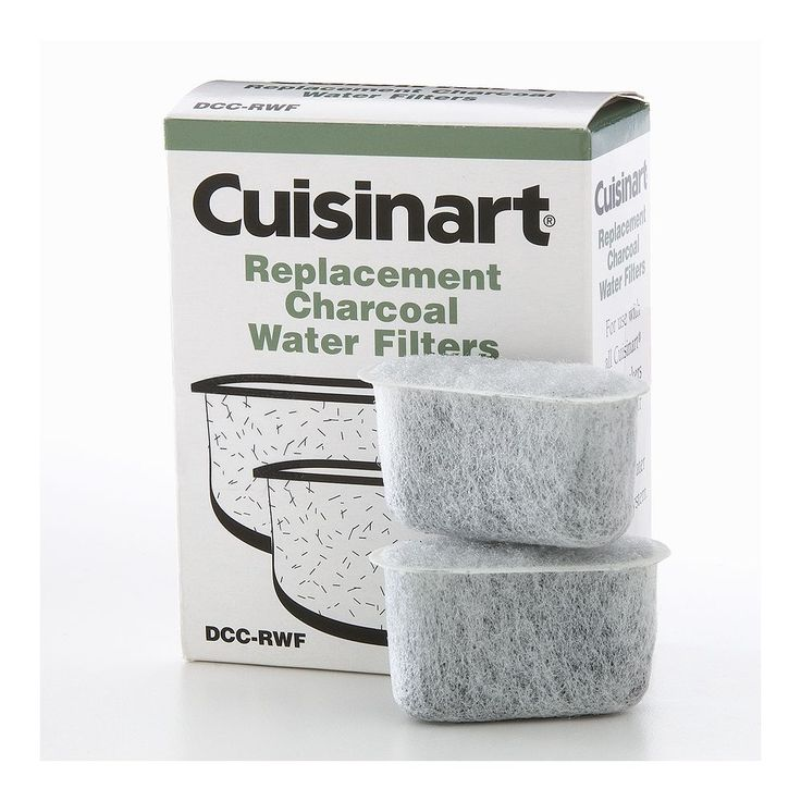 Cuisinart 2-pk. Replacement Charcoal Water Filters, Multicolor