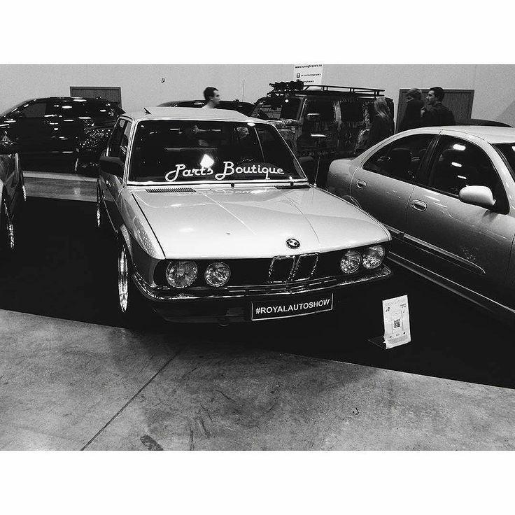 Royal Autoshow 2015 в Санкт-Петербурге, Россия, спасибо всем, кто посетил! BMW E28 M5 на WORK Seeker CX. http://PartsBoutique.ru