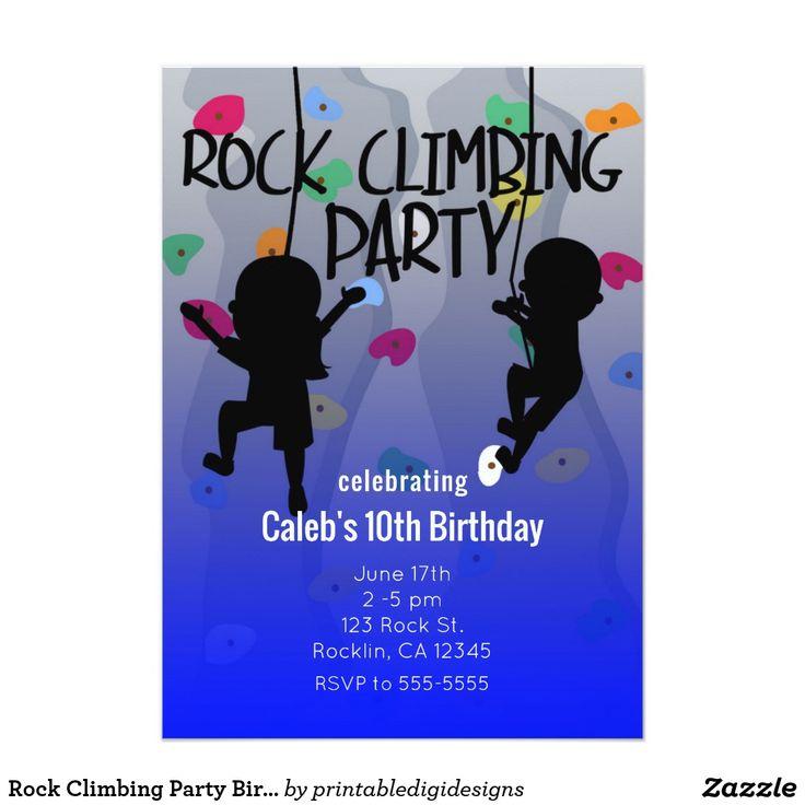 25+ Best Ideas About Rock Climbing Party On Pinterest