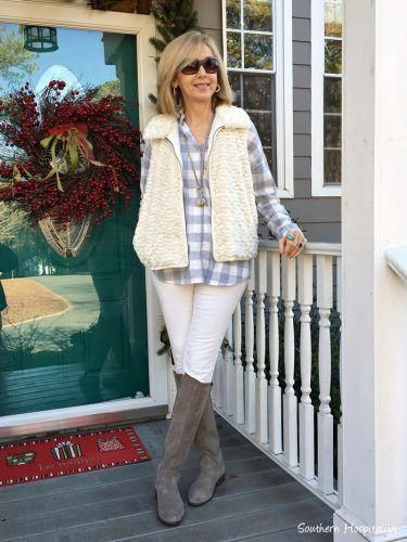 Mode über 50: Boots and Buffalo Check #WomensFashionClassy – Womens Fashion Classy