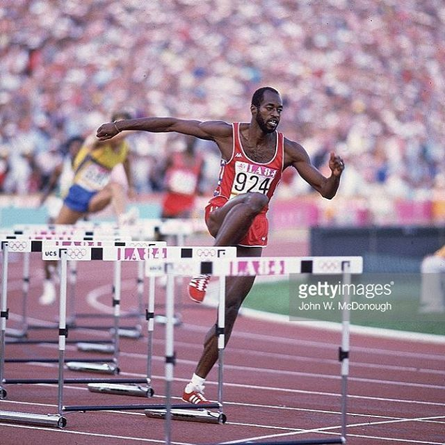 #edwinmoses  400m hurdles  Unbeaten in 10 years  2 times Olympic champion 4…