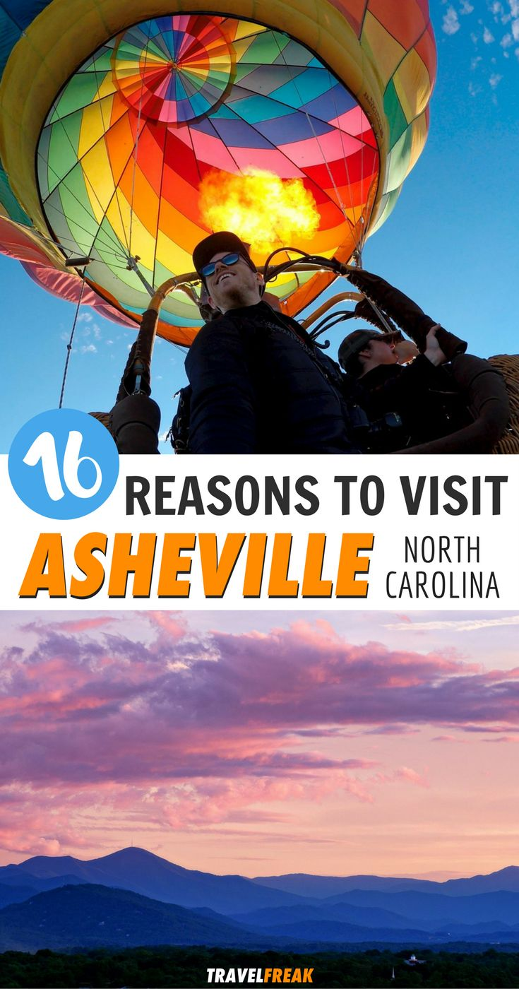 Asheville, North Carolina is the Outdoor Adventure Mecca of the United States. Read this article to experience all the best adventure that Asheville has to offer! Get those hiking boots ready and start the adventure of a lifetime! Asheville Itinerary | Asheville NC Things to Do | Asheville Hiking | Asheville North Carolina #Asheville #NorthCarolina #Outdoor via @travelfreak_
