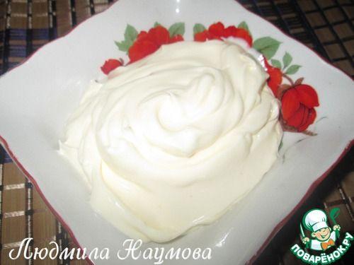 Масляный основной крем на сахарном сиропе - кулинарный рецепт