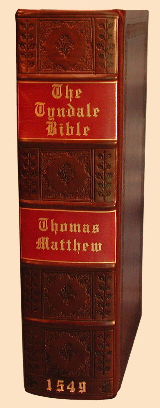 1549 Matthew Tyndale Facsimile Deluxe Binding Edition Greatsite