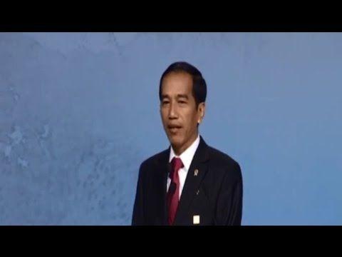 Pidato RESMI Presiden Indonesia JOKO WIDODO DI Forum APEC CEO BEIJING