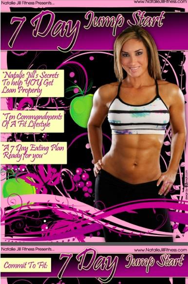 Womens Jump Start Weight Loss Program. More HERE: http://nataliejillfitness.com/products/7-day-jump-start/