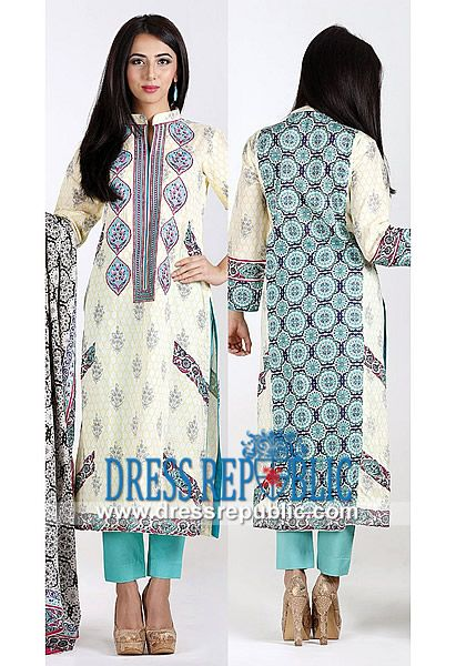 Orient Sawan Latest Designer Pakistani Dresses 2014  Printed and Embroidered Cotton Suits for Mid Summer and Eid ul Azha for South Asian Women Fashion Lovers. Worldwide Delivery. by www.dressrepublic.com
