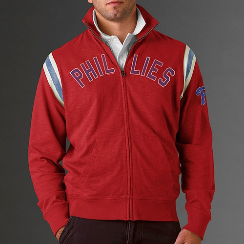 Philadelphia Phillies Stadium Track Jacket