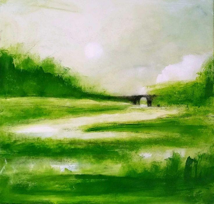 29 besten Grüne abstrakte Gemälde Bilder auf Pinterest | Abstrakte ...