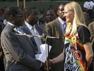 Why Did Kirsty Coventry Get a $100,000 Briefcase of Cash? #pets trendhunter.com