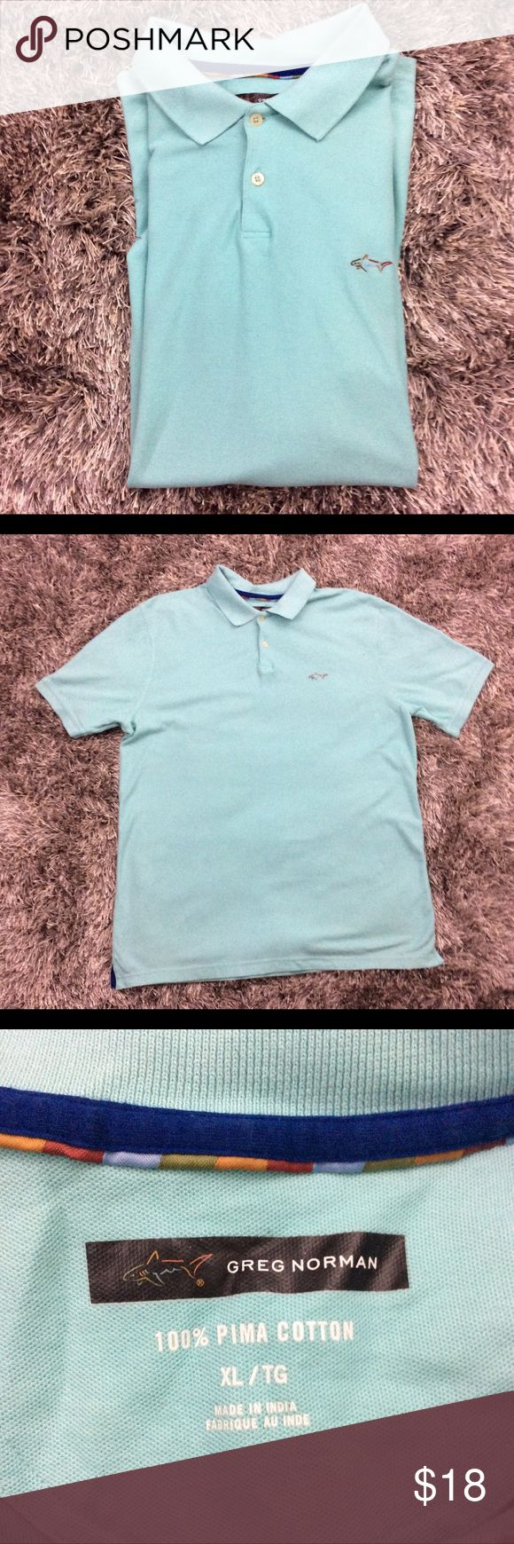 Greg Norman XL Shirt Greg Norman men's polo shirt. In pristine condition. No marks or stains. Comes from smoke free and pet free home. Greg Norman Shirts Polos