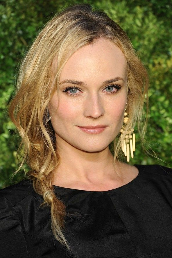 Diane Kruger. Fresh and clean everything, looks classically cool, makeup and hair!