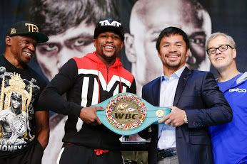 Floyd Mayweather and Manny Pacquiao are facing off Saturday,May 2 at the MGM Grand Garden Arena in Las Vegas Nevada..But since the fight is co-produced and co-distributed by HBO and Showtime.
