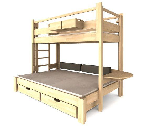 Twin-over-full DBB-301 by De Breuyn   Children's beds