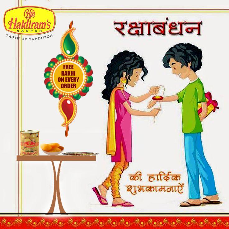 Let's Celebrate this #RakshaBandhan with Special #Haldirams #RakhiOffer