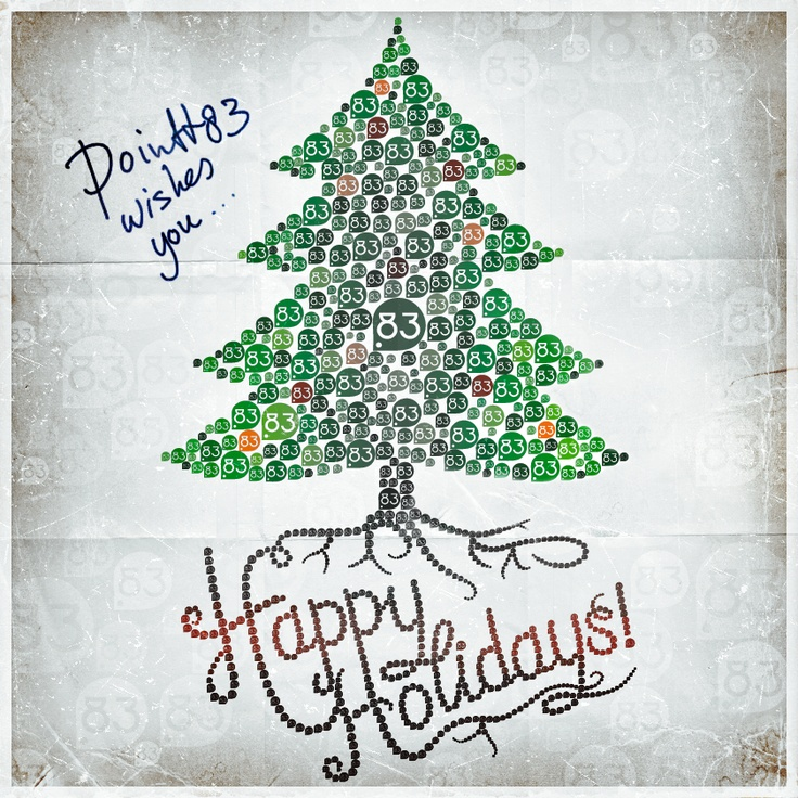 POINTT83 wishes you… Happy Holidays!