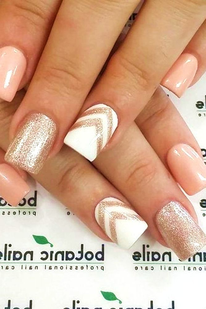 35 Nail Design Ideas For The Latest Autumn Winter Trends: 35 Cutest Nail Designs For Summer #nails #summer #2017