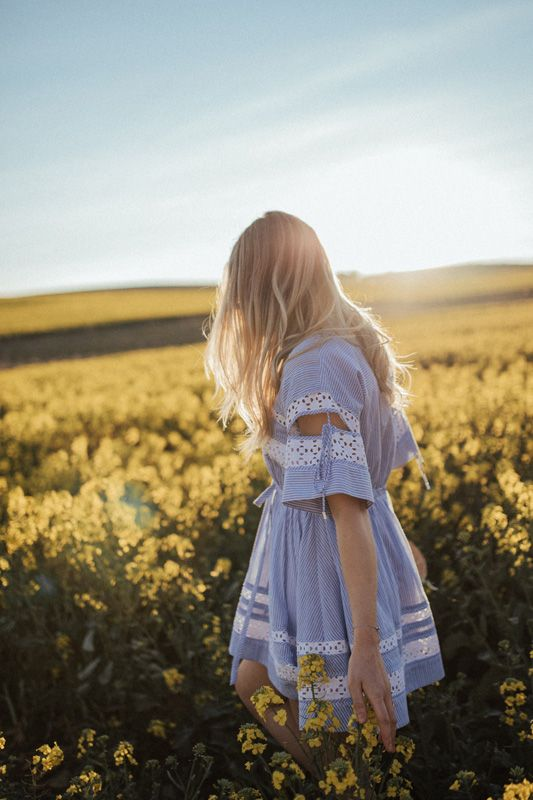 A Wander Through the Wildflowers | HOORAY! Mag  | Canola Fields | Flower Fields | Lover The Label |