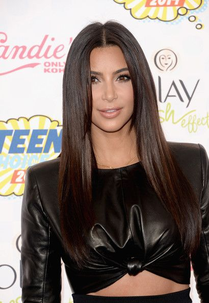 TV personality Kim Kardashian attends FOX's 2014 Teen Choice Awards at The Shrine Auditorium on August 10, 2014 in Los Angeles, California.