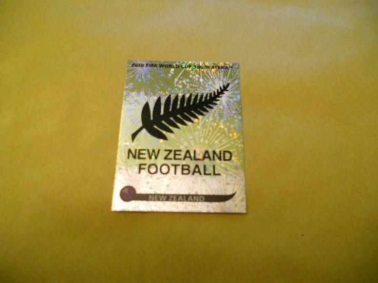 FIGURINE PANINI-SOUTH AFRICA 2010-BADGE-LOGO NEW ZEALAND 449-N.-FIFA WORLD CUP  | eBay