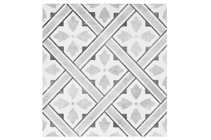 Mr Jones from Laura Ashley The Heritage Collection is a classic geometric square tile presented in beautifully muted tones.    Geometric patterns are still a massive trend, Mr Jones can comfortably rival the other geometric designs on the market.  With its matte finish and muted tones, this tile will add a touch of elegance to any space.