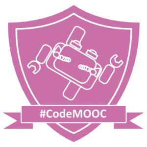 Ed ecco il Badge per il corso rapido di 20 ore su Code.org inserito nel CODEMOOC del Prof.A.Bogliolo dell'Università di Urbino
