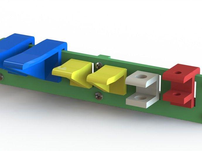 Workshop Modular Tool Hanger by cswaim - Thingiverse
