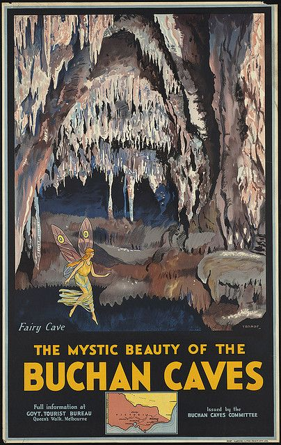The mystic beauty of the Buchan Caves by Boston Public Library, via Flickr