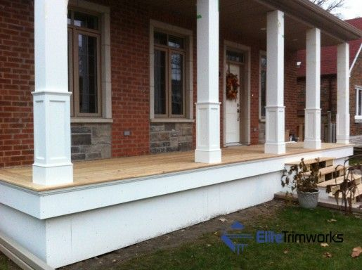 Beautiful Elite Trimworks Offers An Extensive Line Of Square Tapered Or Non Taperedu2026  Front Porch Columns ...