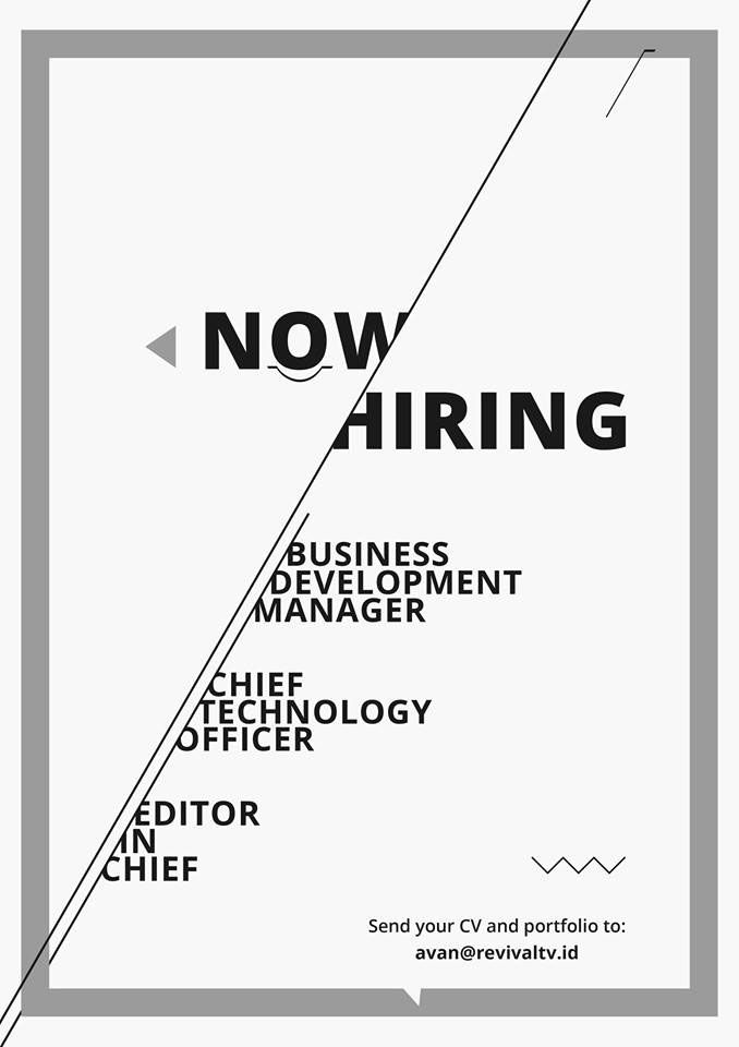 Pin by loco miilo on Poster Idea | Hiring poster, Job ads