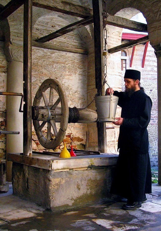 Mount Athos _ Hilandar Monastery, Greece