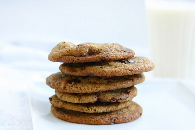 Adult Cookies: Brown Butter, Bacon, Chocolate Chips, Cayenne, and Sea Salt. Hmmm...?!?!