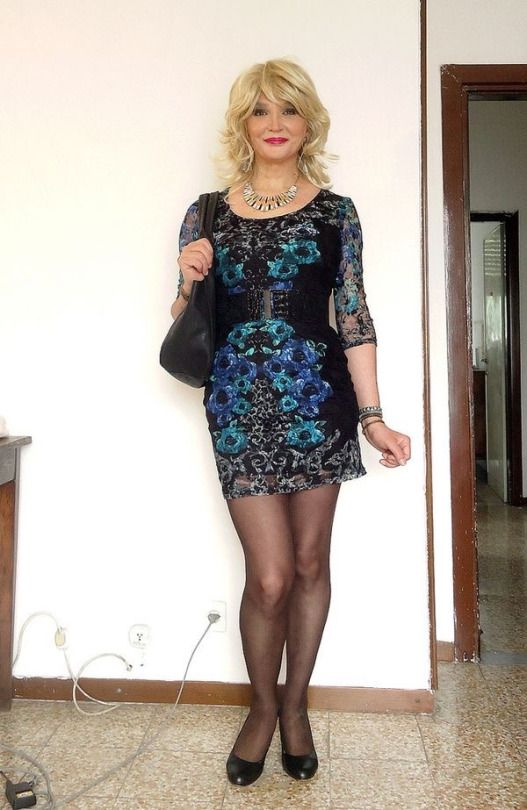 Pin On Crossdresser In Dresses And Wedding Gowns Too